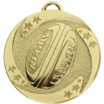 Rugby Medal 50mm AM1040